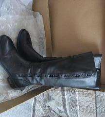 Lasocki visoke crne kožne čizme