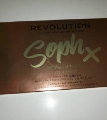 REVOLUTION SophX paleta NOVO