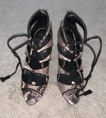 Zara animal print sandale 37