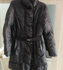Zara smeđa zimska jakna 36,S