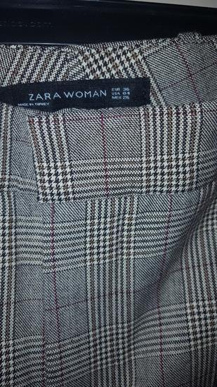 Zara nove karirane hlače vel.S