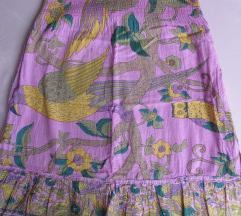 Ljubičasta ljetna suknja