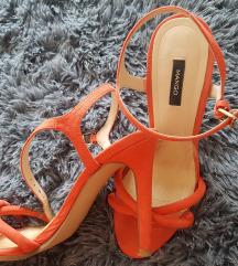 Mango narančaste sandale