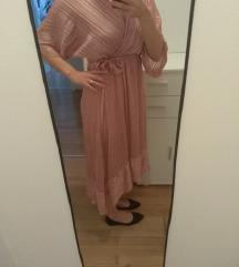 Nova svečana roza haljina uni veličina