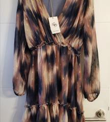 SNIŽENO Nova mini haljina dugih rukava