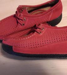 Wedge cipele/tenesice crvene boje