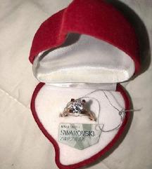swarovski prsten orginal