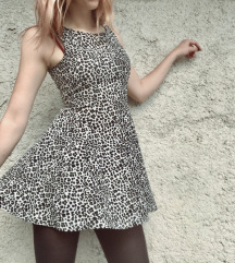 Haljina leopard print