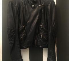Kožna rokerska jakna