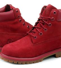 Čizme Timberland Original Crvene