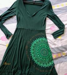 Desigual zelena haljina