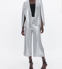Zara šljokičasto odijelo
