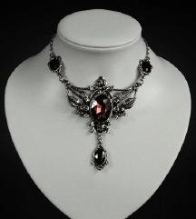 Gothic ogrlica REZ