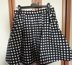 crno-bijela suknja