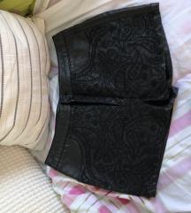 Amisu Kožne hlačice