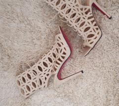 Lace up sandale