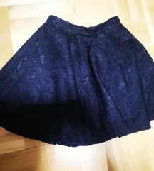 Nova čipkasta suknja XS
