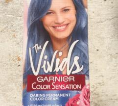 Neotvorena Garnier Aqua blue boja za kosu