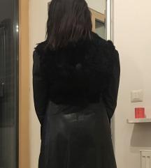 Kozna jakna sa pravim krznom od zeca