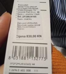 Benetton šuškava jaknica NOVO, SNiŽENO