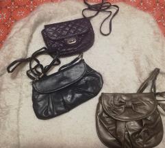 Tri male torbice