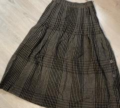 50 kn %% Karirana vunena suknja