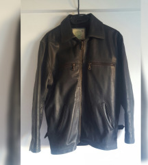 Kroko vintage jakna, prava koža