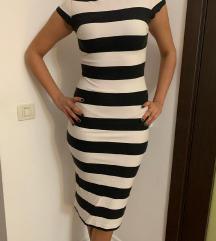 ZARA haljina pruge, veličina M
