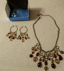 Set - ogrlica i naušnice!