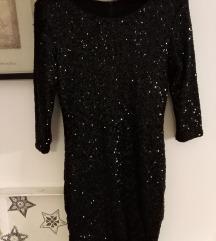 Crna svečana haljinica S/M