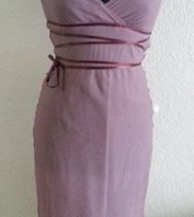 Haljina svila boje lavande 34
