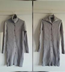 Knit haljina/dugi kardigan 100% pamuk, kao nova