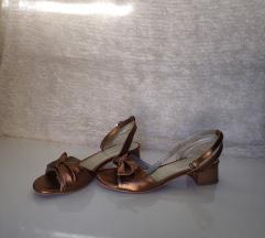 Guliver sandale 38 koža, jednom nošene