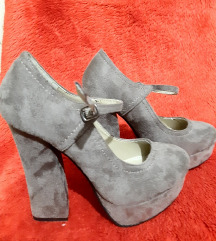 38 taupe cipele
