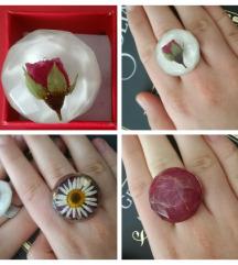 Prsten s cvijećem