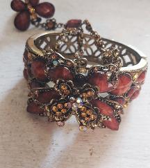Vintage narukvica sa prstenom