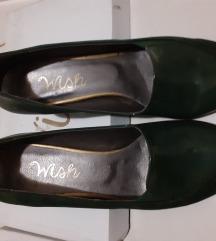 NOVE petrolej zelene cipele na petu, 39