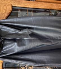 Reserved kožna suknja M velicina
