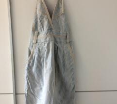 Traper prugasta haljina