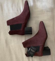 Zara kožne čizme