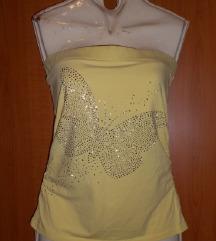 Amisu žuta majica s leptirom