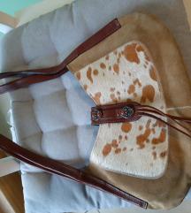 Kozna talijanska torbica prava koža