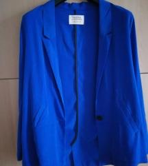 Plavi blazer M