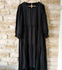Tamno siva Zara haljina