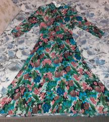 Zara midi haljina, Tisak uključen