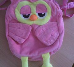 Mala roza torba / ruksak za vrtić