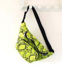 NOVA snake print bum bag