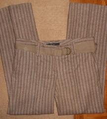 ZARA BASIC hlače na crtu
