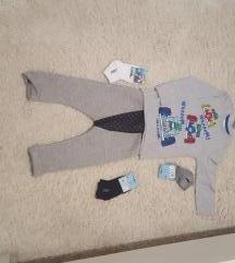 Majica, trenirka i čarapice
