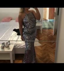 Svečana sljokasta haljina